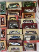 Twenty assorted Matchbox Models of Yesteryear boxed vehicles, Spyker, Cadillac, Rolls Royce,