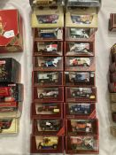 Twenty assorted Matchbox Models of Yesteryear boxed vehicles, 1910 Renault type AG,