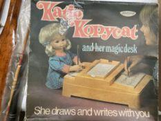 Katie Kopycat and her magic desk by Palitoy (box playworn)