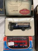 Corgi boxed Vintage Glory Pickfords Foden Dropside Wagon with crates and an Alexander Dennis Enviro