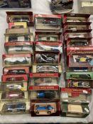 Thirty assorted Matchbox Models of Yesteryear boxed vehicles, 1935 ERA RIB Stutz Bearcat,