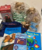 Storysack bag, Peace At Last by Jill Murphy book and CD,