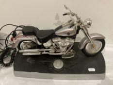 Harley Davidson Fat Boy telephone, model 805HARL-FB by King America,