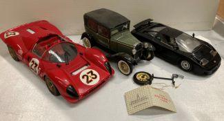 Jouet Evolution Ferrari 330 P4 scale 1:18 die-cast metal car,