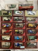 Twenty assorted Matchbox Models of Yesteryear boxed vehicles, Talbot van, GMC van, Ford Model T,