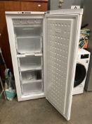 A Beko A Class Frost Free upright freezer