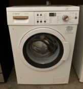 A Bosch Vario Perfect Eco Silence Drive automatic washing machine