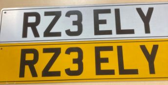 CHERISHED REGISTRATION NUMBER R23 ELY. Must be assigned before 06.08.