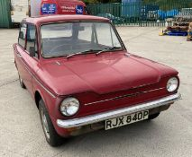 HISTORIC VEHICLE - HILLMAN IMP DELUXE 875cc TWO DOOR SALOON - Petrol - Imperial Red - standard