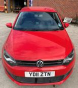 VW POLO MODA 70 1.2 3 DOOR HATCHBACK - Petrol - Red. From a deceased estate.