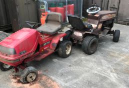 """A Lazar powered by Honda L95 36"""" contra cut lawn tractor,"""
