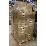 Contents to pallet - Rosdon Group 200ml pump top sanitiser (unlabelled) - 23 x boxes of 96 (2208
