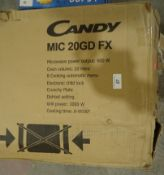 1 x Candy MIC20GDFX Integrated Microwave