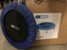 Pro Fitness Trampoline - 70cm diameter inner,