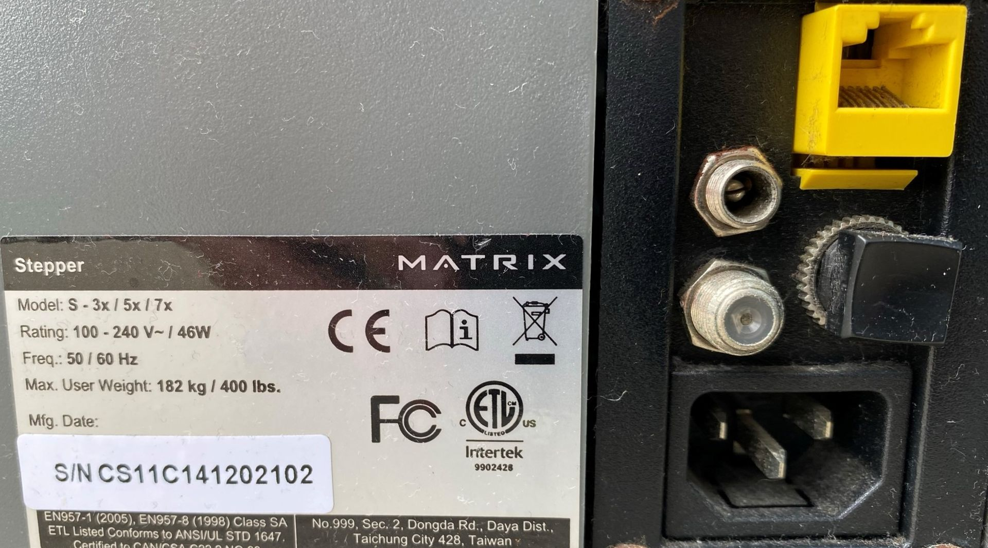 A Matrix S5x Stepper Further Information Stepper has been tested briefly. - Image 5 of 5