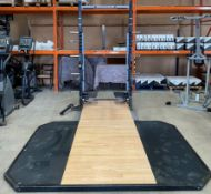 A Matrix A690 Half Rack Further Information A plastic joining corner/piece for the
