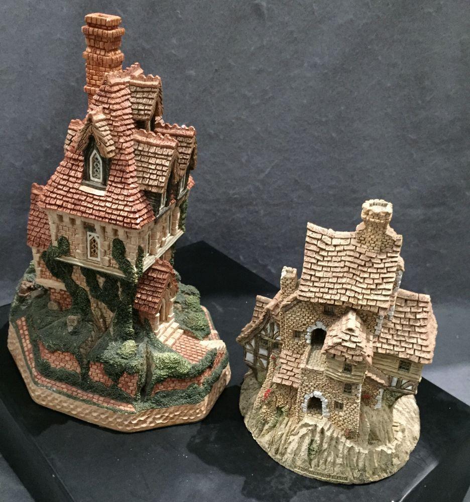 David Winter Cottages and Castles, other ceramics