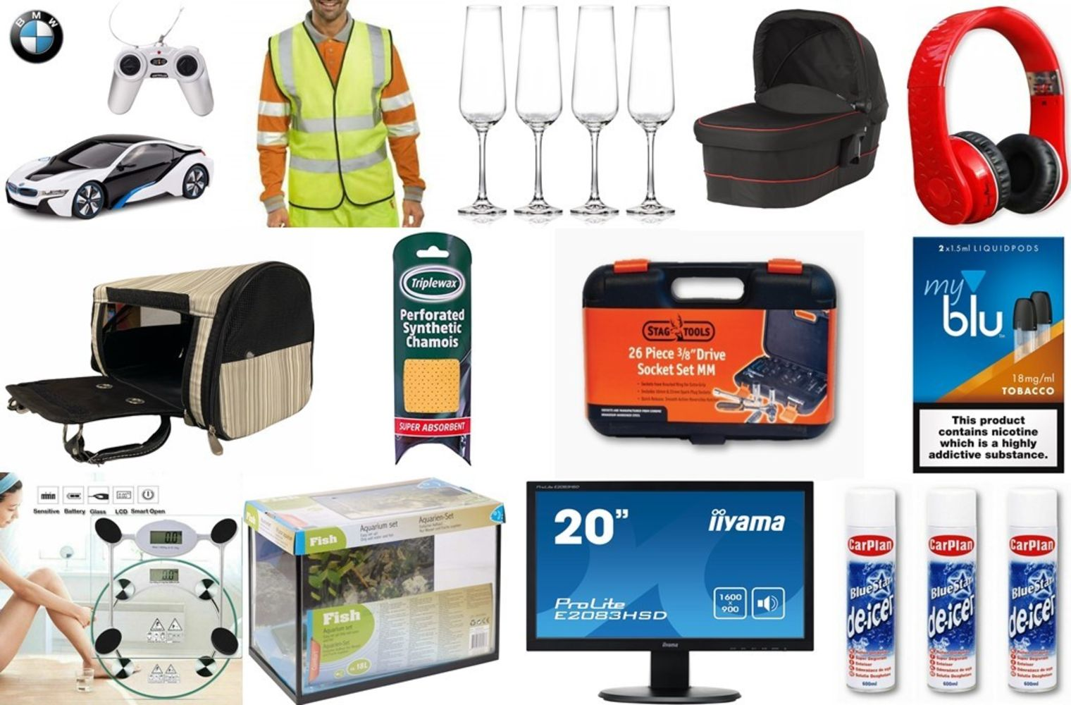 New Retail Stock, Consumer Goods and Associated Items on behalf of UK Wholesaler (Cleckheaton)