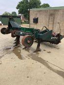 5 Leg Flexi-Farm 500 Subsoiler with roller. Stored near Diss, Norfolk.