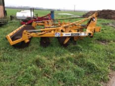2011 Knight Raven 2.8m cultivator -serial number 087100265. Stored near Chatteris, Cambridge.