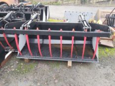 New 2.0m bucket grab, pipes included, euro 8 brackets, Stored near Kington, Herefordshire.