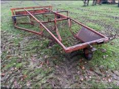 Browns Bale Sledge. Stored near Goring Heath, Reading. No VAT on this lot.