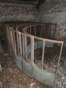 5 Cattle rings (10 sides). Stored near Bungay.