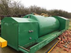 4000 litre Sprayer bowser with Honda Pump - Fits onto flat bed trailer chasis,