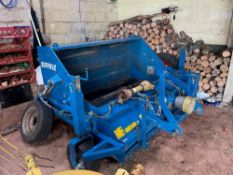Suffolk Sweeper Collector - Second hand approx. 5 years old. Stored near Woodbridge, Suffolk.