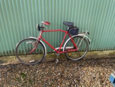 Vintage Post Office Bicycle. Stored near Woodbridge, Suffolk. No VAT on this lot.