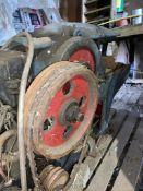 Hudson Brown Ltd Hacksaw - Spares and Repairs. Stored near Chatteris, Cambridgeshire.