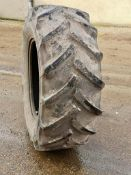 2 Tractor Tyres - 1 is Multibib 650/65R38 and the other is Continental 480/70R28.