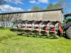 Kverneland 85-300-8 6 Furrow Plough. Stored Faversham, Kent.