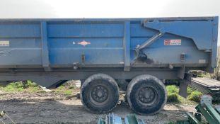 AS Ace Trailer, air and oil brakes, 14/16 tonne, good order. Stored near Lakenheath, Suffolk.