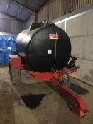 Enduramaxx water/liquid Bowser 5000l. Stored near West Grinstead, Sussex.