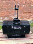 Zuidberg 900kg front weight. Stored Leicestershire.