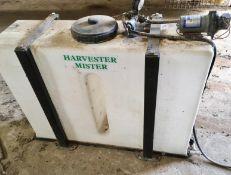 Potato Harvester mister. Stored near Fakenham, North Norfolk.