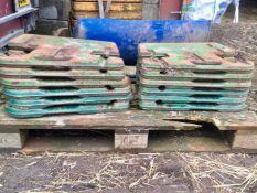 JD Leaf weights. Stored near Dorchester, Dorset.
