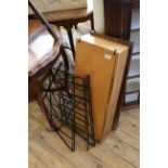 A 1960's Ladderax style two drawer unit with shelf (as found)