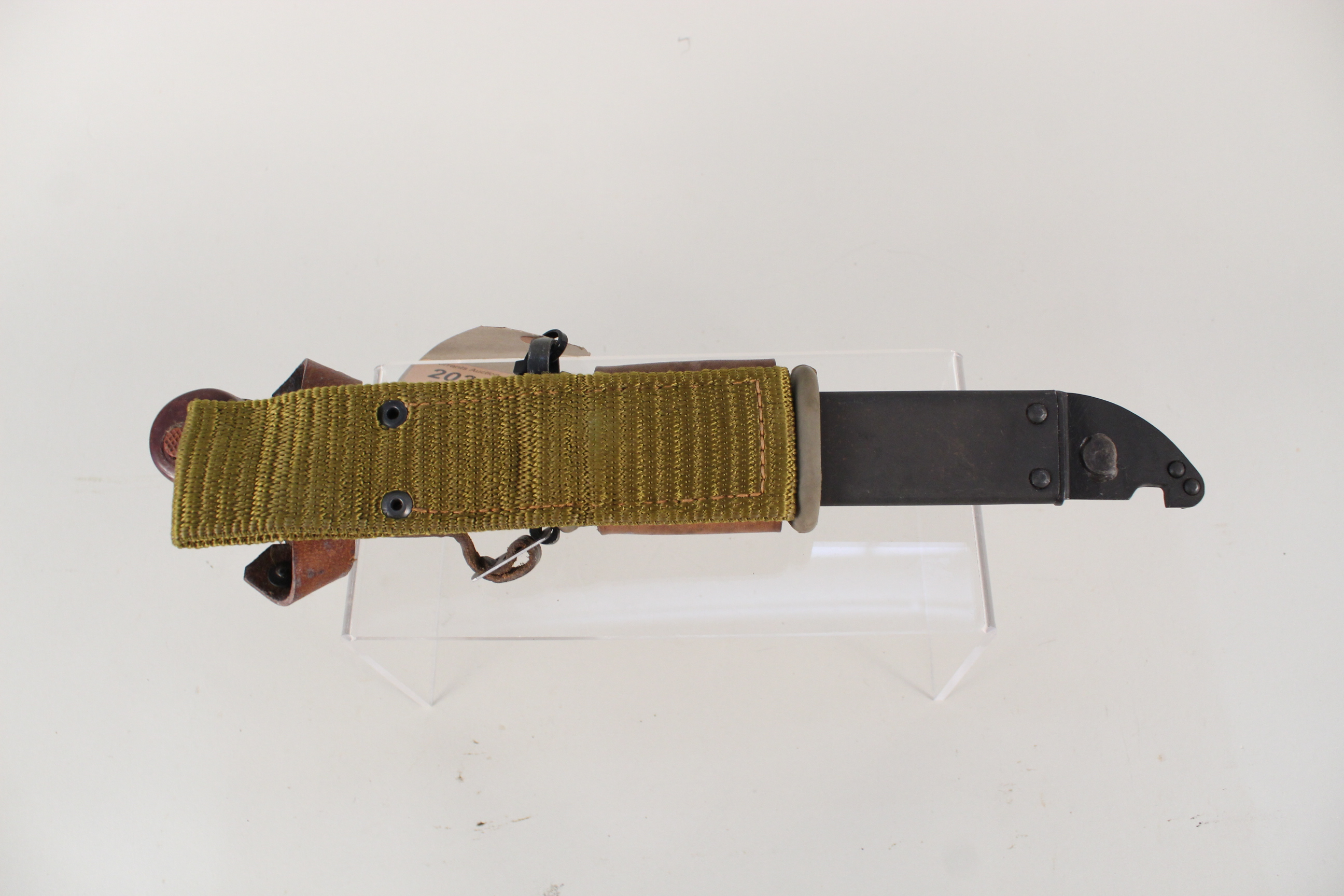An AKM Bayonet with scabbard (matching numbers) - Image 4 of 4