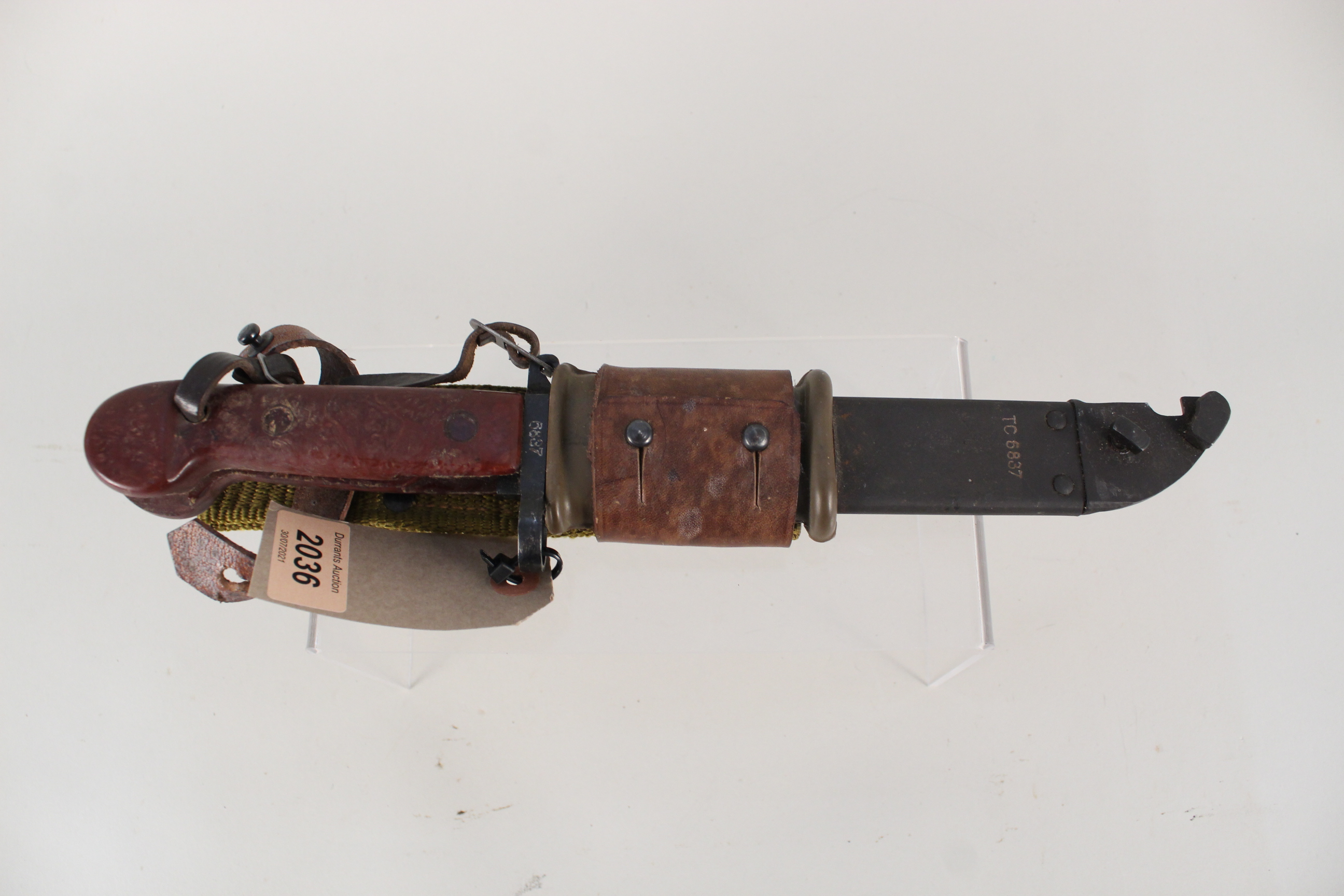 An AKM Bayonet with scabbard (matching numbers) - Image 3 of 4