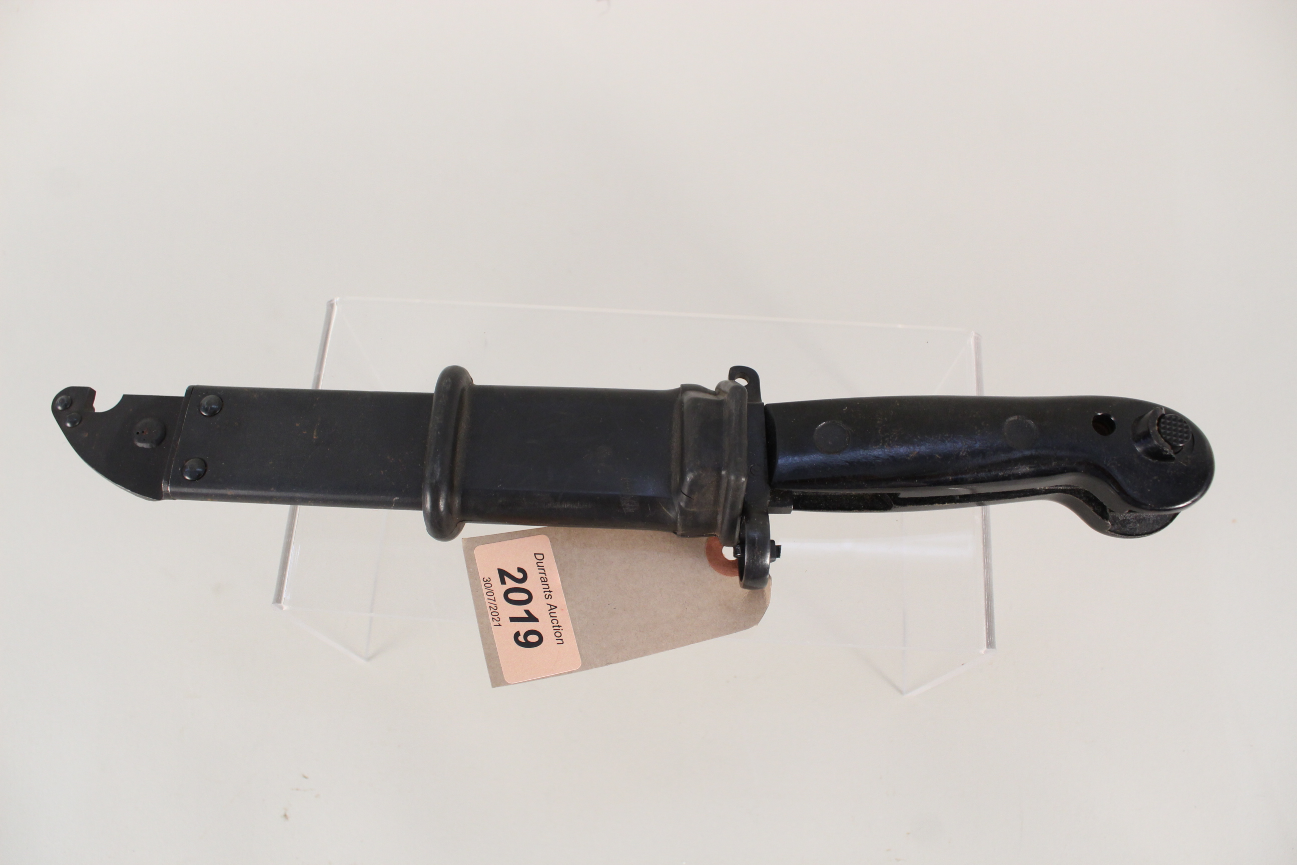 An East German knife bayonet for the model '59' AK, - Image 3 of 4