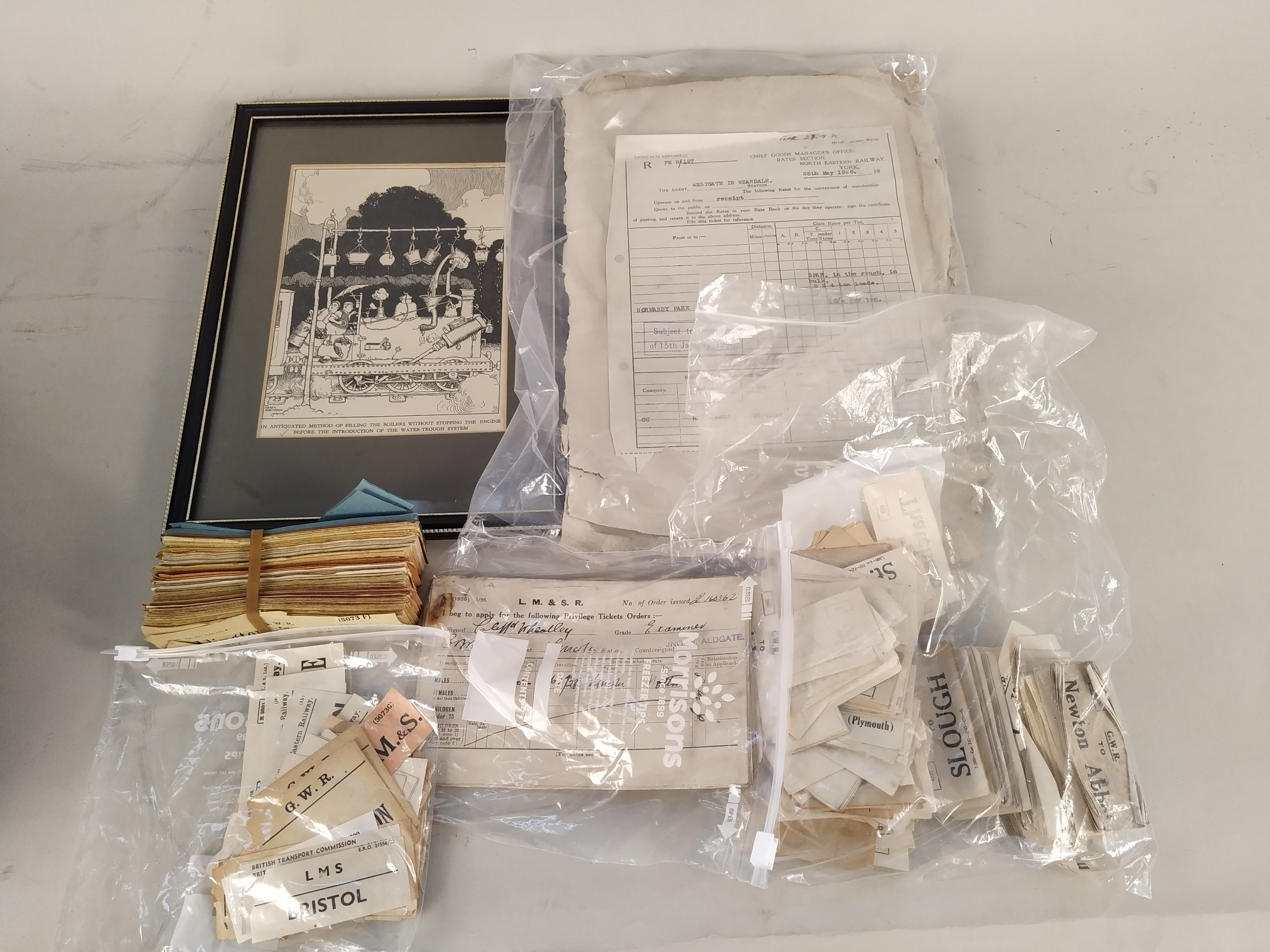 A good selection of vintage railway related ephemera including tickets, - Image 3 of 4