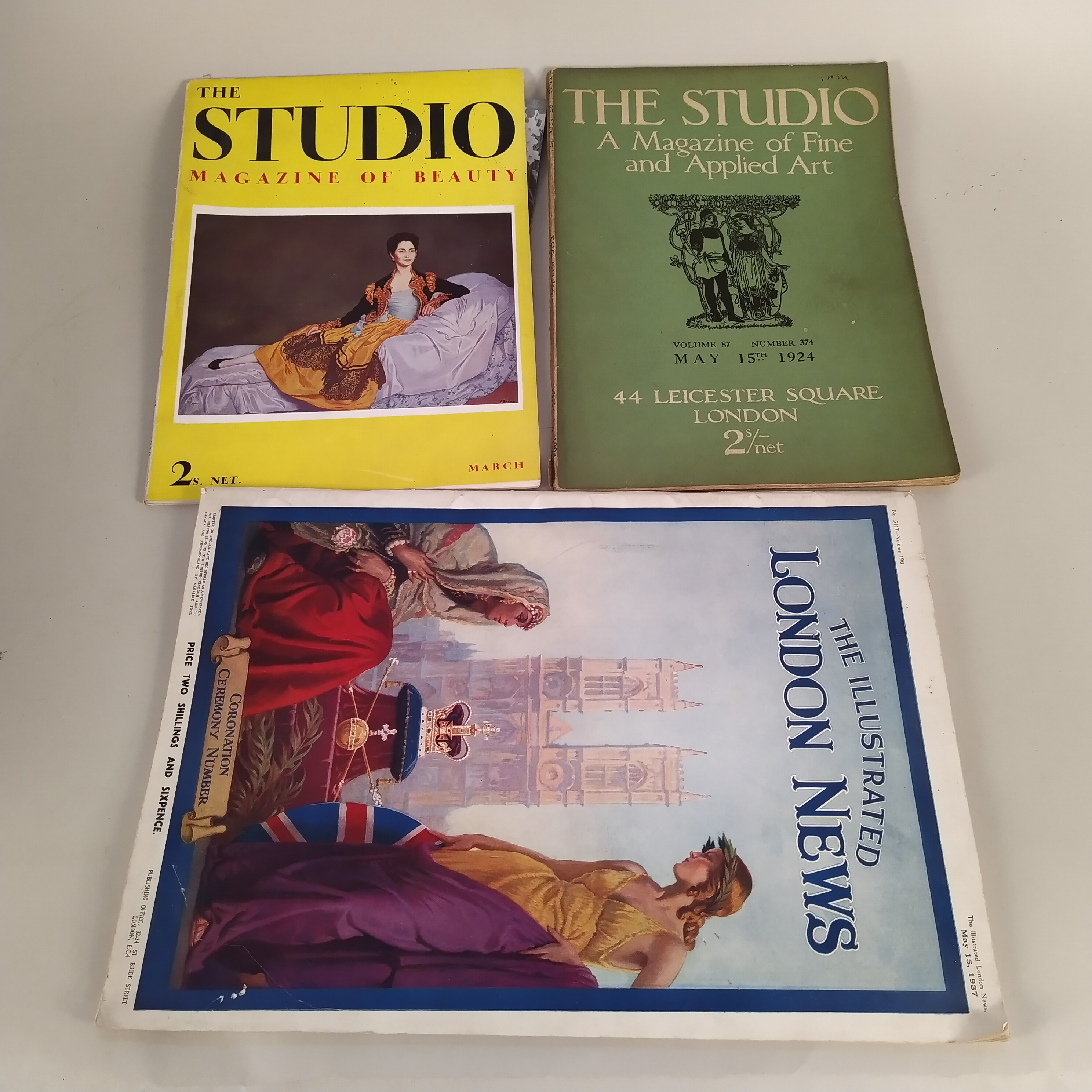 A selection of 1920's 'The Studio Magazine', - Image 2 of 3