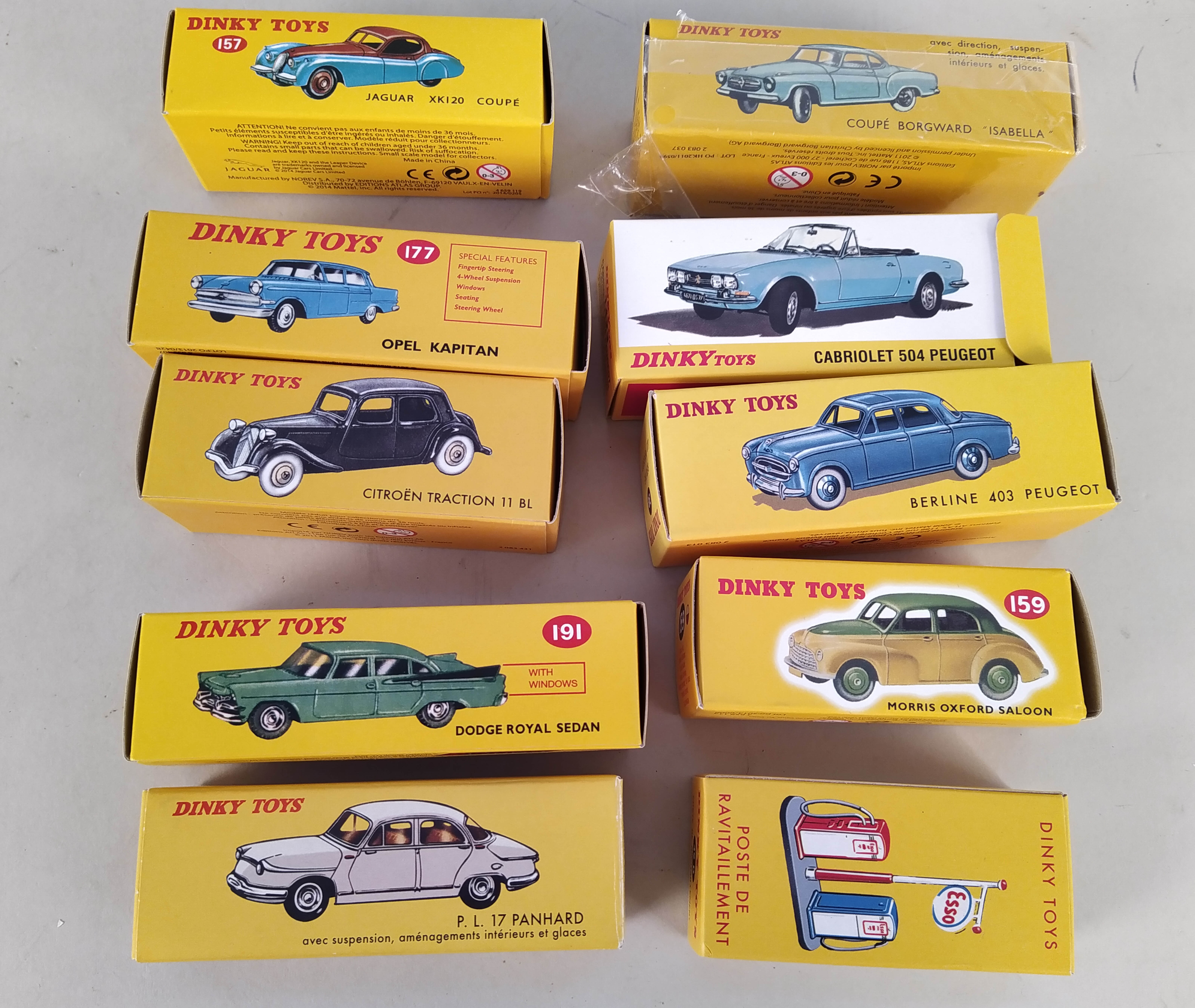 Approx nineteen boxed Dinky vehicles plus Esso petrol pumps, - Image 3 of 3