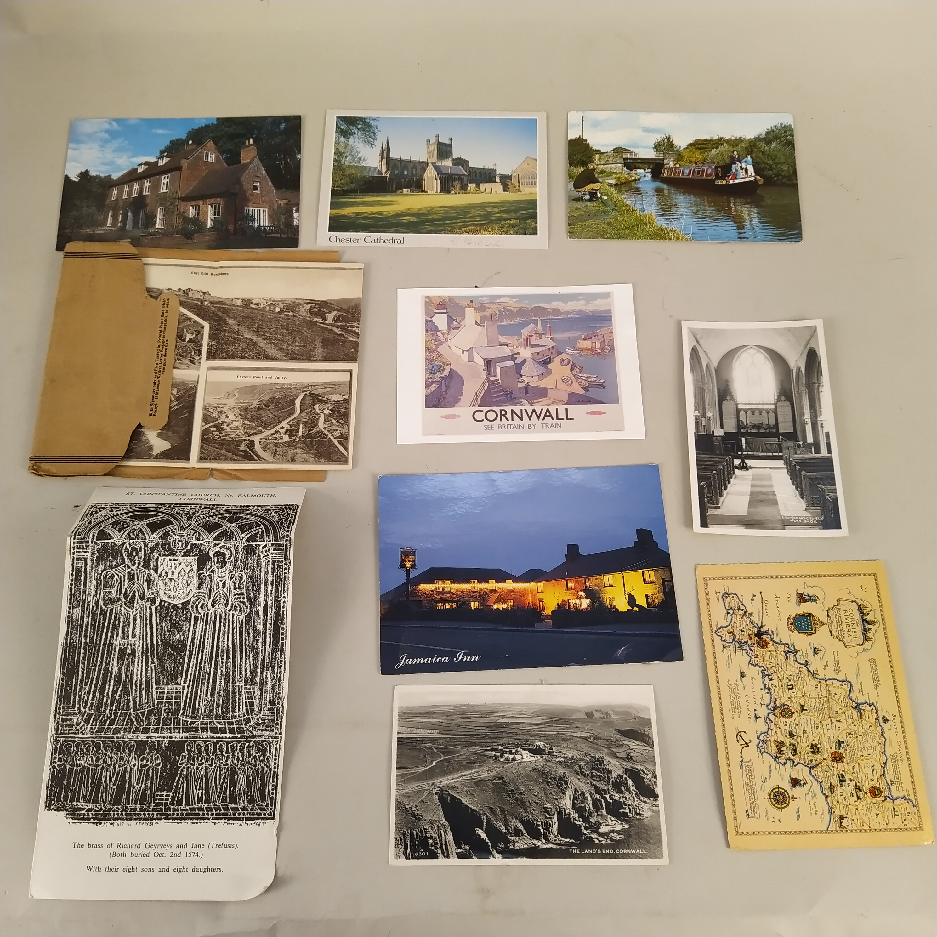 A selection of vintage postcards plus a box of early photographs - Image 2 of 3
