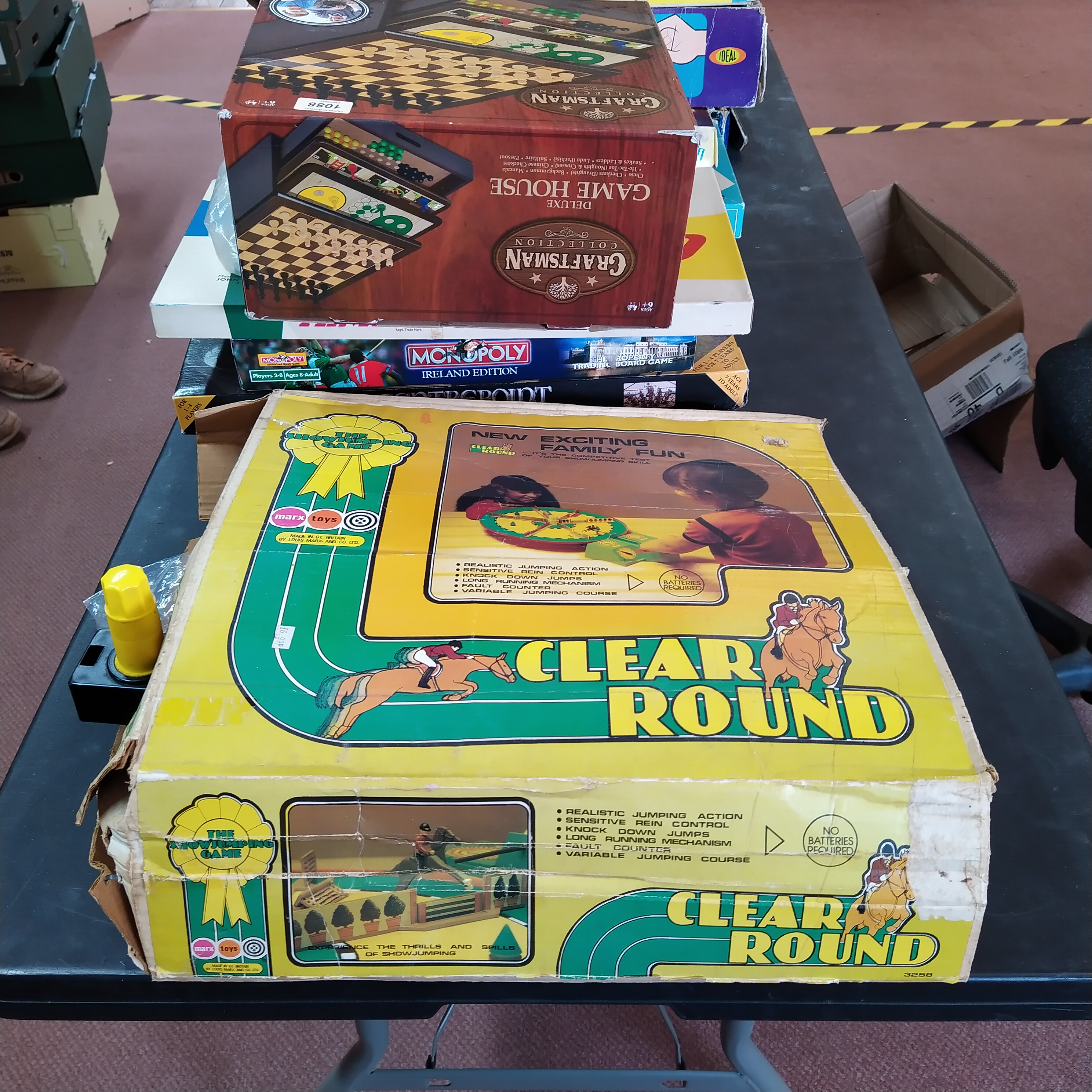 A large quantity of board games including Marx Clear Round and Thomas the Tank Engine set - Image 2 of 3