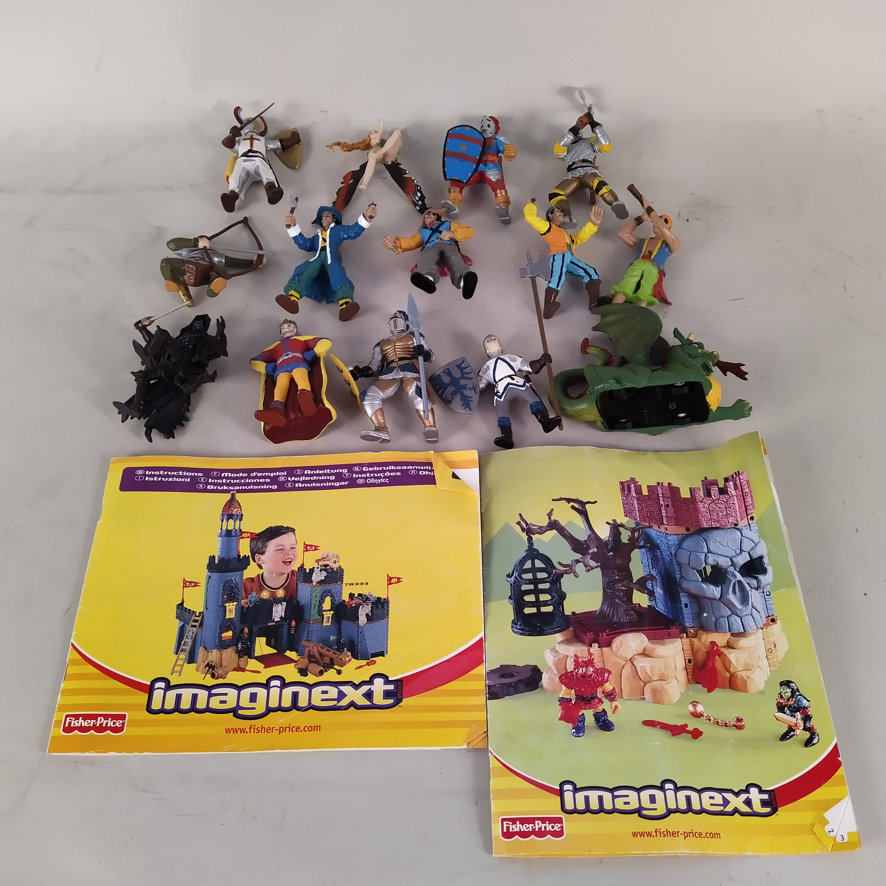 A large quantity of Fisher Price 'Imaginext' figures