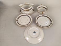 A part Rosenthal 'Orelay' pattern dinner service