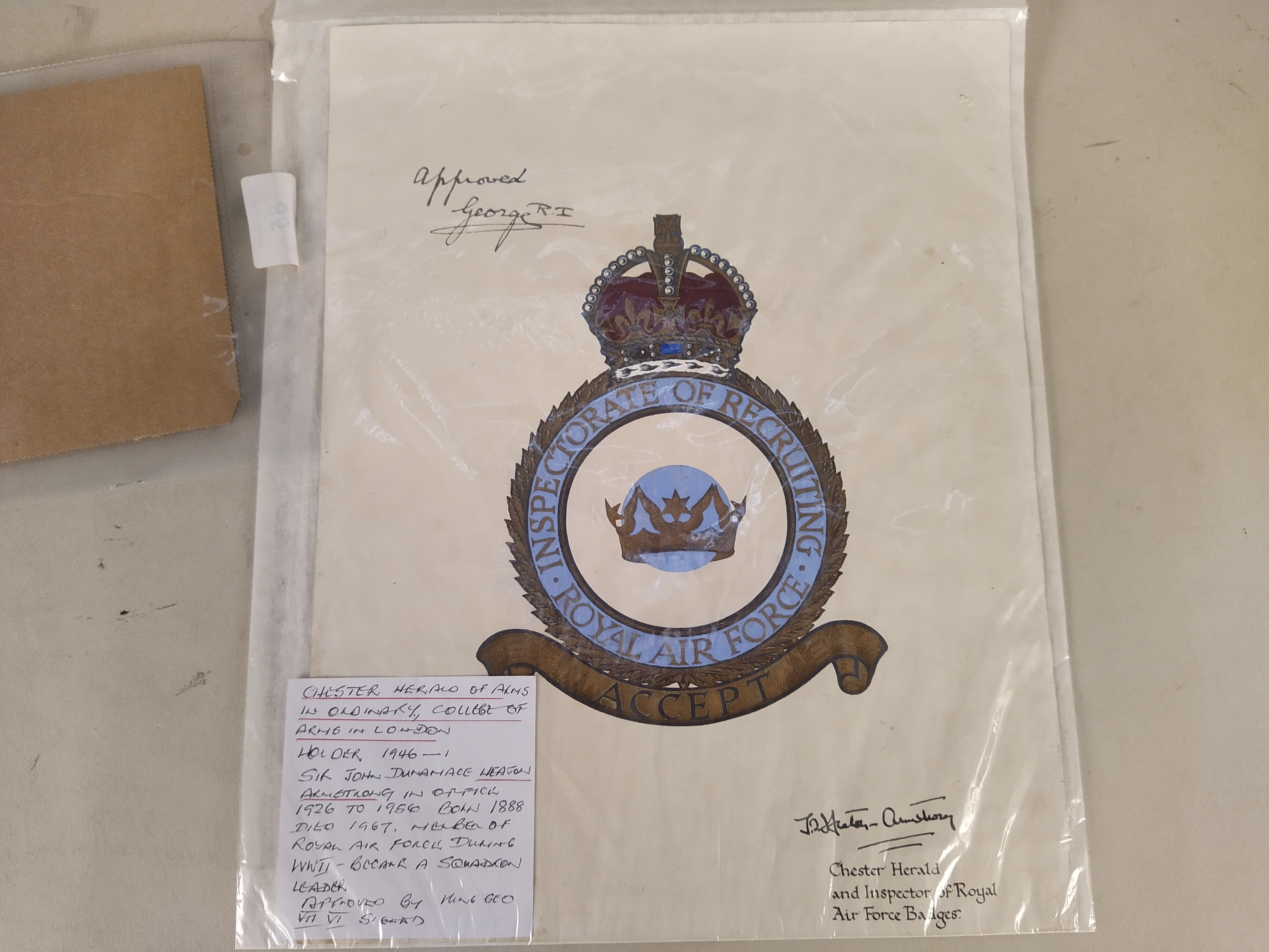 A telegram from Queen Mary from the Royal Yacht at Cowes August 21, subject George Drummond Esq, - Image 3 of 3